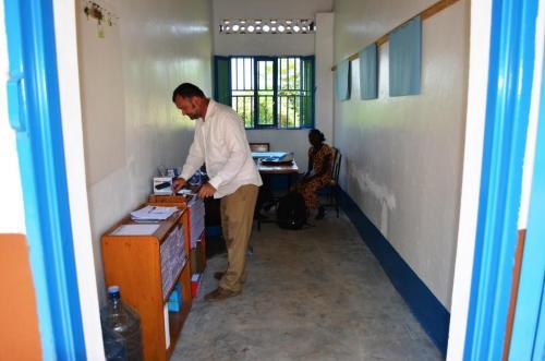 Franco, coordinatore espatriato del progetto