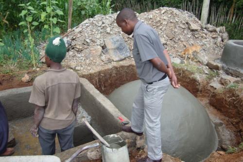 Costruzione cisterna per biogas